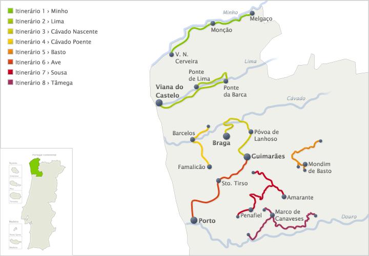 Винные маршруты Португалии (vinho verde зеленое вино)